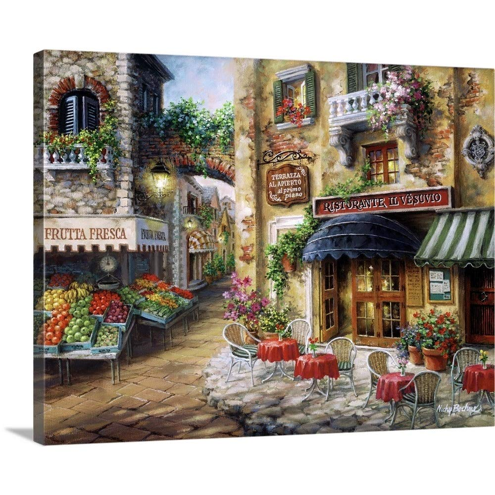 """Nicky Boehme Premium Thick-Wrap Canvas Wall Art Print entitled Buon Appetito 20""""x16"""""""