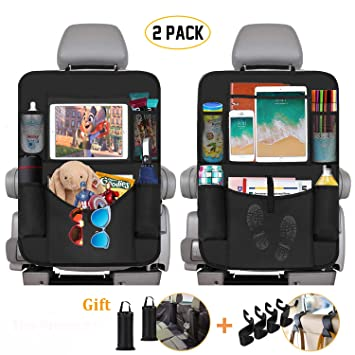 Kids Cartoon Car Seat Back Organizer Storage Bag Hanging Case Pocket Holder USA