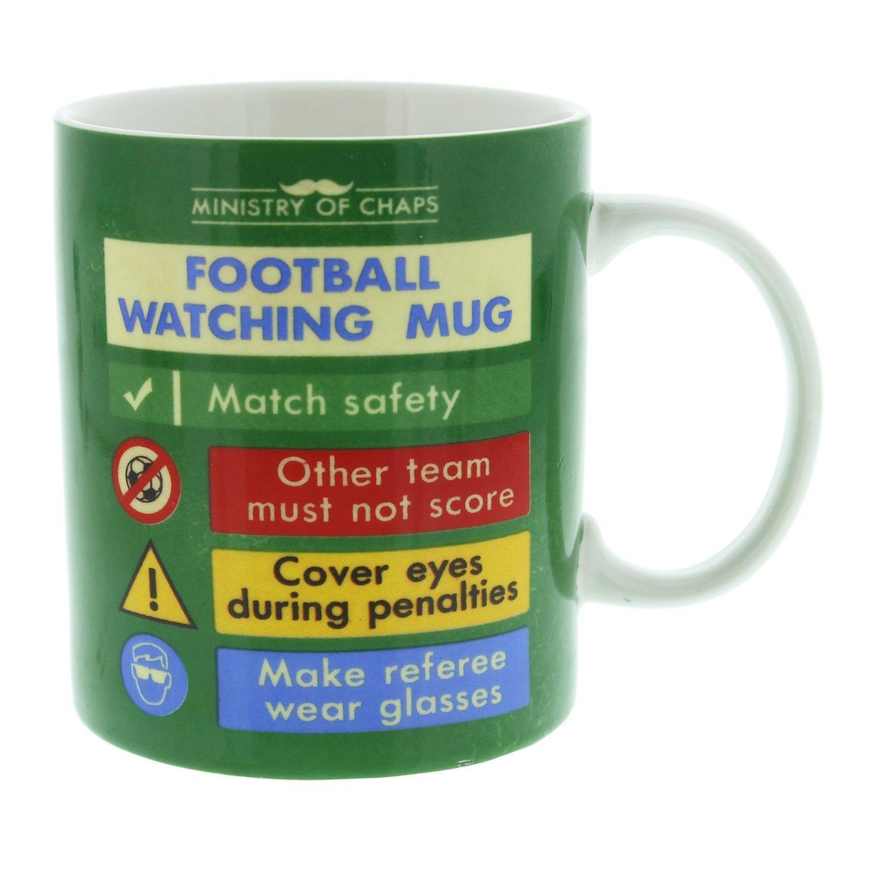 Ministry of Chaps Mug Football Watching