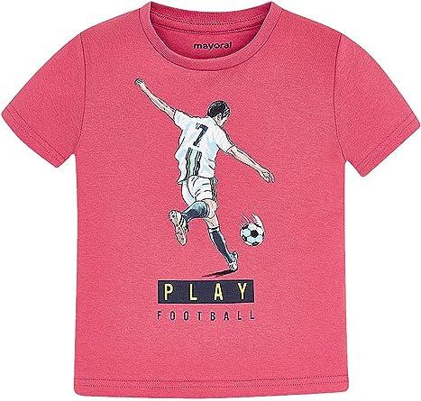 Mayoral, Camiseta para niño - 3055, Rosa: Amazon.es: Ropa y accesorios
