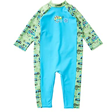 0954025646 Splash About Kids UV All-in-One Sun Protection Suit: Amazon.co.uk ...