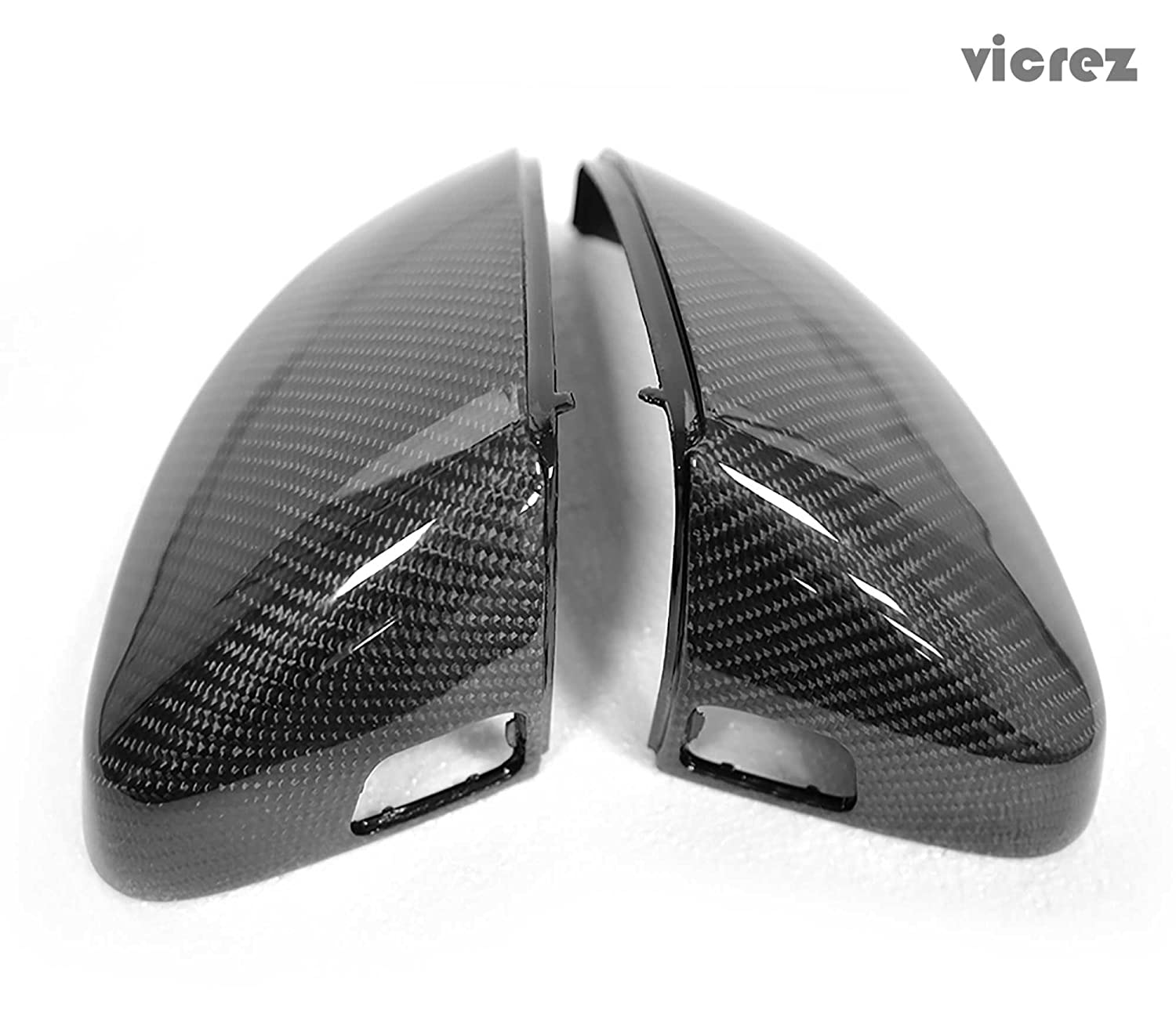 Vicrez Audi A3 S3 RS3 2014-2018 Carbon Fiber Side Mirror Cover vz100705