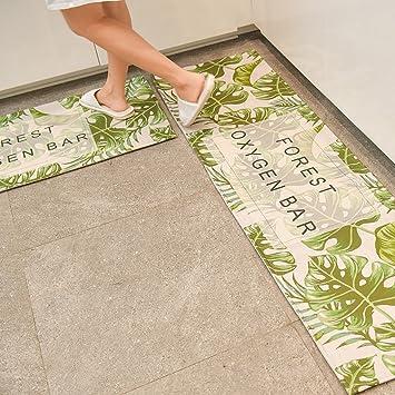 Amazon.de: ZHANWEI Bereich Teppiche Teppich Küche Badezimmer Matte ...