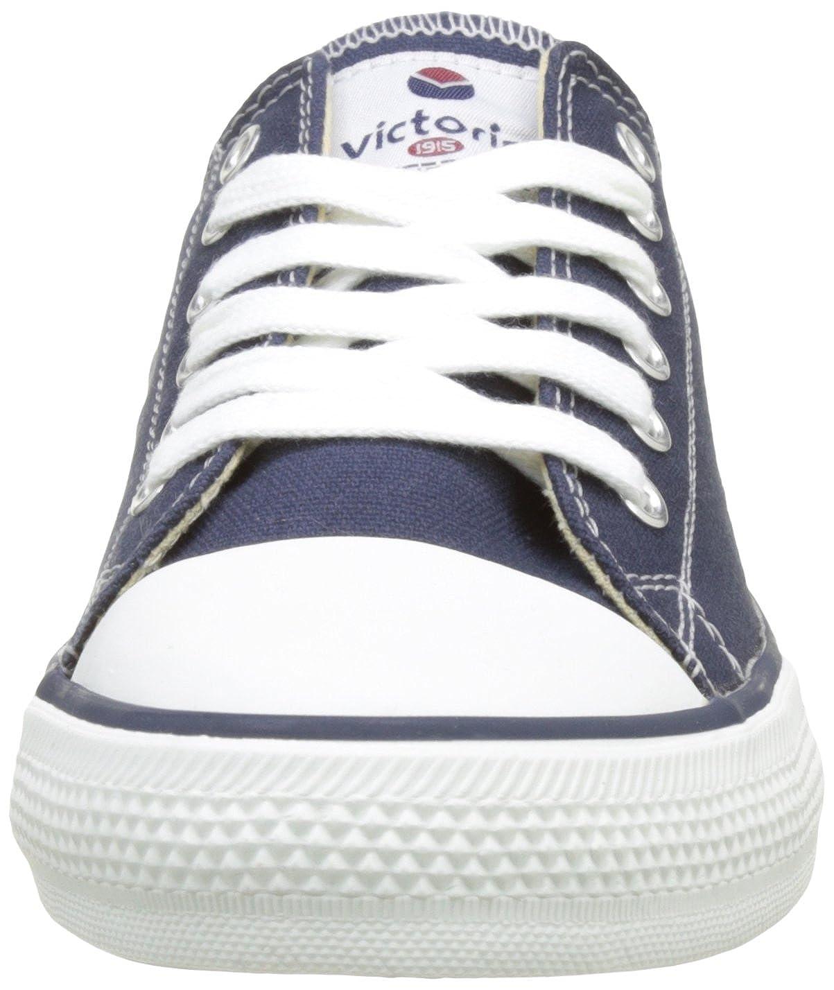10.5 UK victoria Unisex Adults Zapato Basket Autoclave Hi-Top Trainers Blue Marino 30
