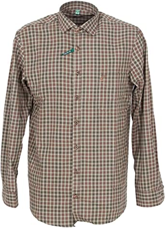 Orbis 420000-3631/55 - Camisa para hombre, color verde oliva ...