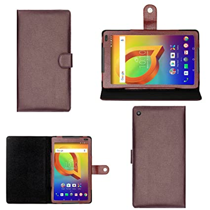 los angeles 2e776 4fb62 Zaoma Artificial Leather Flip Stand case Cover for: Amazon.in ...