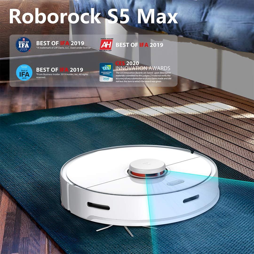 roborock S5 MAX - Robot aspirador (policarbonato): Amazon.es: Hogar