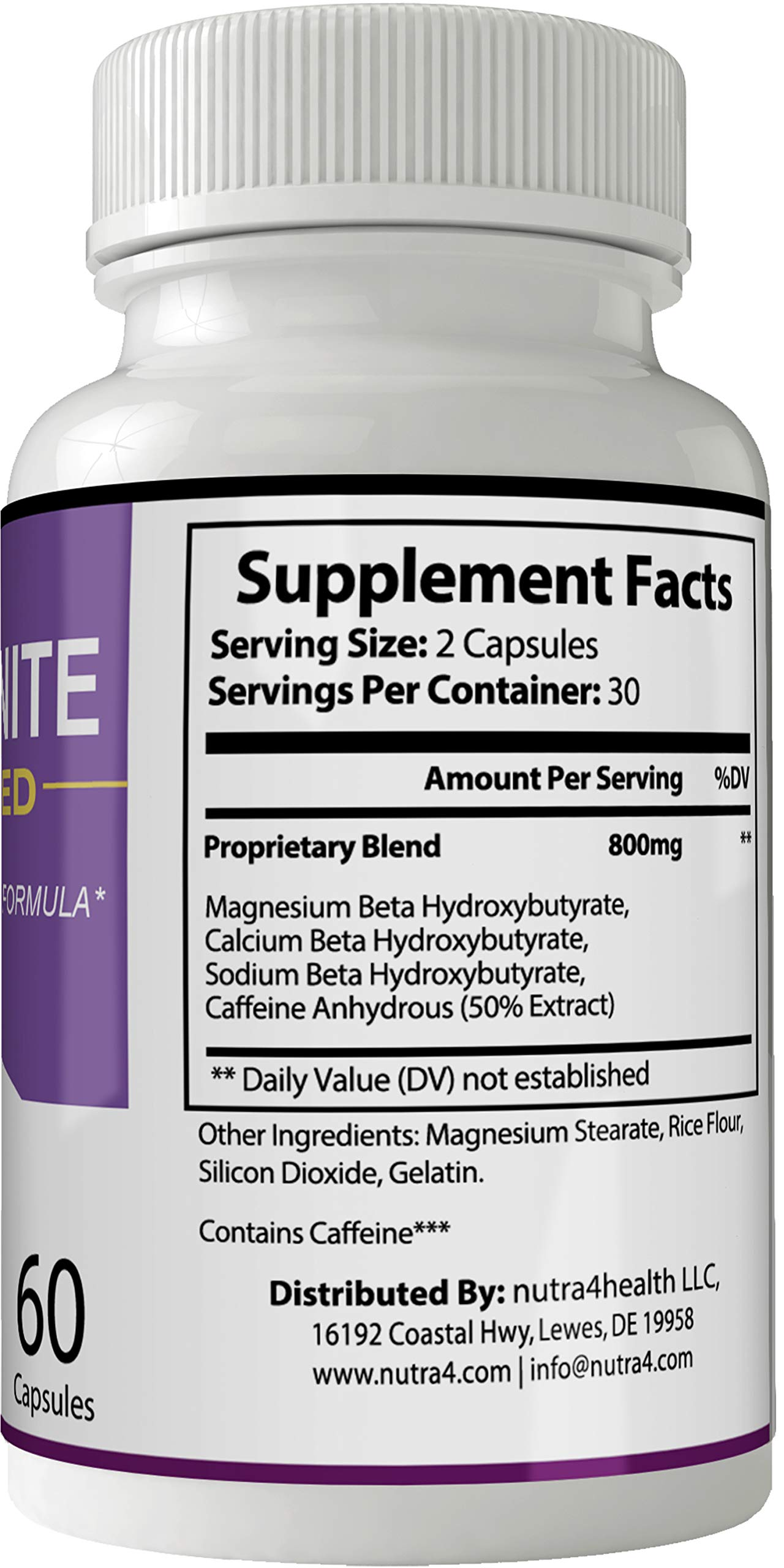 Keto Ignite Advanced Pills Weight Loss Supplement, Appetite Suppressant with Ultra Advanced Natural Ketogenic Capsules, 800 mg Fast Formula with BHB Salts Caffeine Ketone Diet Boost Metabolism by nutra4health LLC (Image #2)