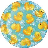 Creative Converting Bubble Bath Dessert Plates
