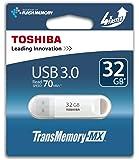 Toshiba TransMemory Clé USB 3.0 32 Go Blanc