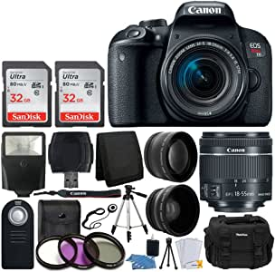 Canon EOS Rebel T7i - Cámara réflex Digital (con Objetivo EF-S 18 ...
