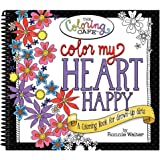 Color My Heart Happy: A Coloring Book for Grown-Up Girls from The Coloring Cafe