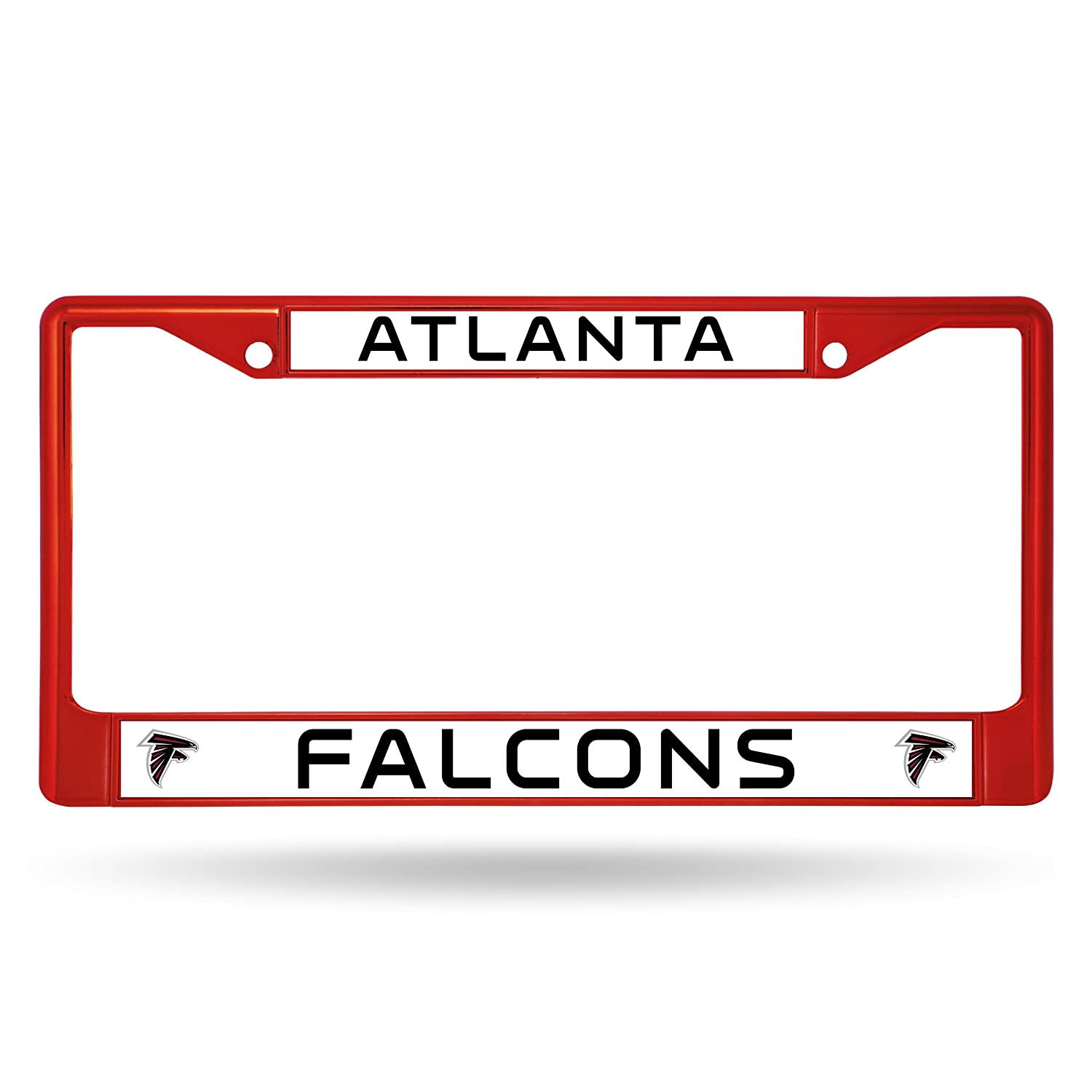 Red Rico Industries NFL Atlanta Falcons Colored Chrome Plate Frame