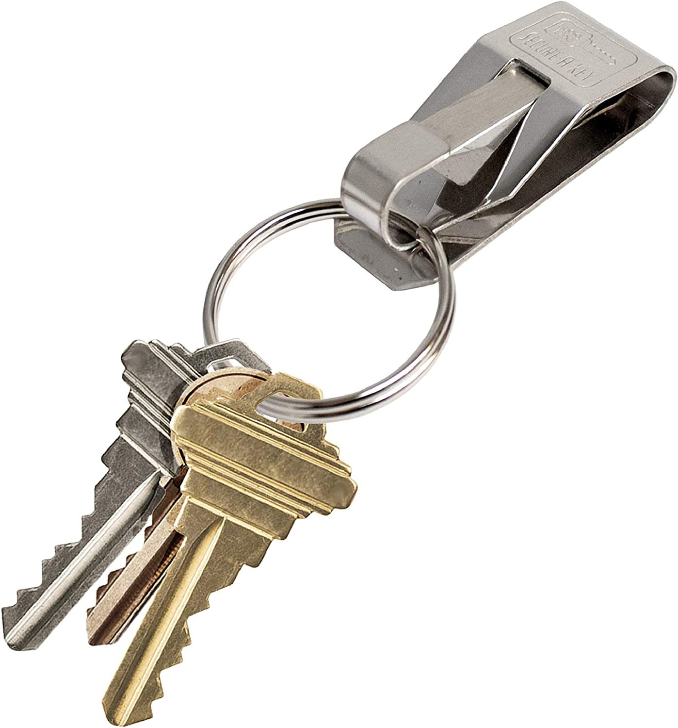 5 Per Pack, for Wide Belts 404005 Clip ON Lucky Line TheOriginal Secure-A-Key
