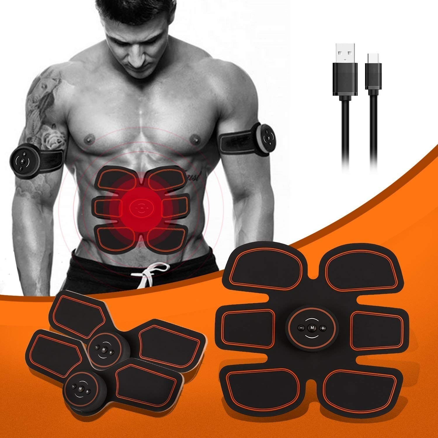 Sporting Goods Abdominal Exercisers The Flex Belt Abdominal Muscle Toner Fast Shipping Brand New