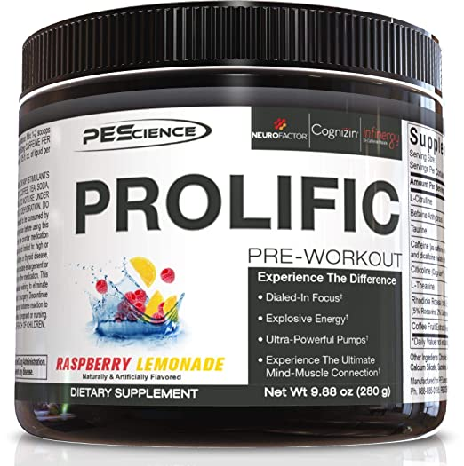 The PEScience Prolific, Raspberry Lemonade travel product recommended by Nicholas Rizzo on Pretty Progressive.