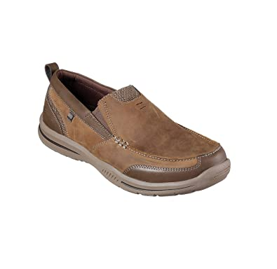 SKECHERS Men's Relaxed Fit Elected Brano Slip-On Shoes