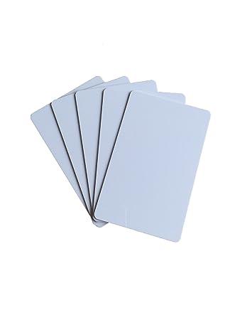 YARONGTECH la mejor en blanco de plástico PVC tarjetas de identificación Tarjeta de crédito delgado CR80 disponible para impresora de tarjetas (Pack ...