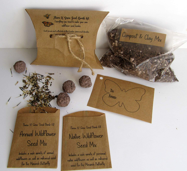 Amazon Com Wildflower Seed Bombs Kit Diy Seed Bomb Making