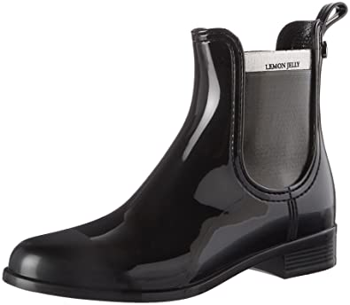 Lemon Jelly Elena, Chelsea Boots Femme, Noir (Black 01), 39 EU