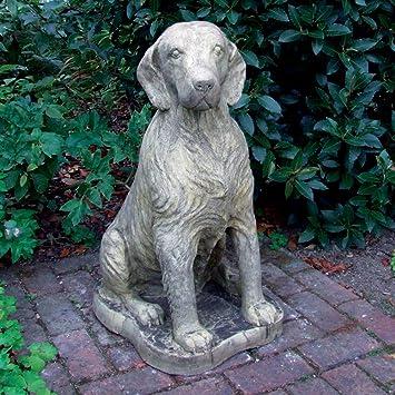 Large Garden Statues Irish Setter Dog Sculpture Amazoncouk