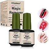 Magic Nail Polish Remover, Magic Gel Remover, Gel Polish Remover, Professional Soak-Off Gel Nail Polish Remover, Non-Irritati