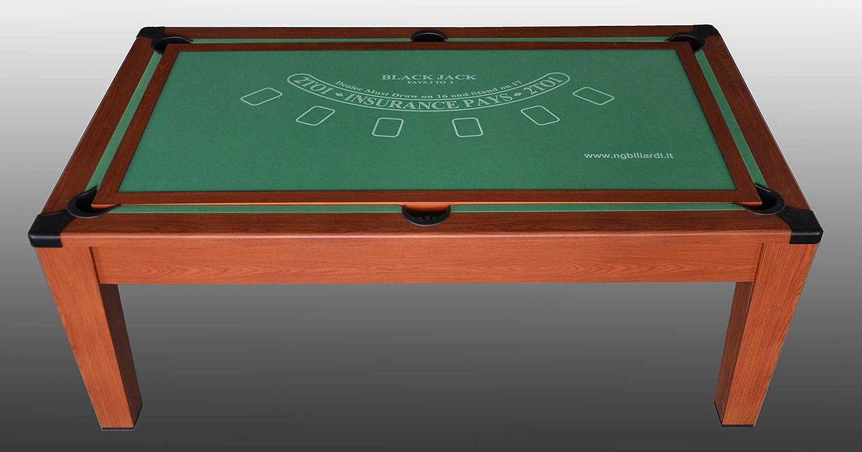 NG Biliardi Mesa de Billar Convertible en Mesa – póker – Air ...