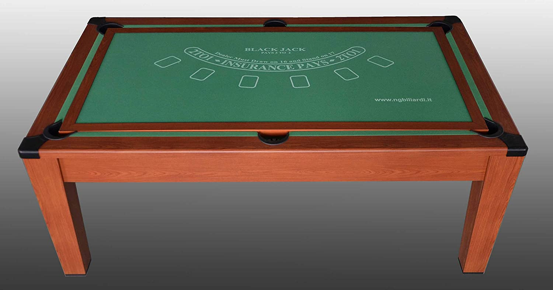 NG Biliardi Mesa de Billar Convertible en Mesa - póker - Air ...