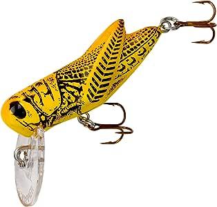 Rebel Lures Crickhopper Cricket/Grasshopper Crankbait Fishing Lure, 1 1/2 Inch, 1/4 Ounce
