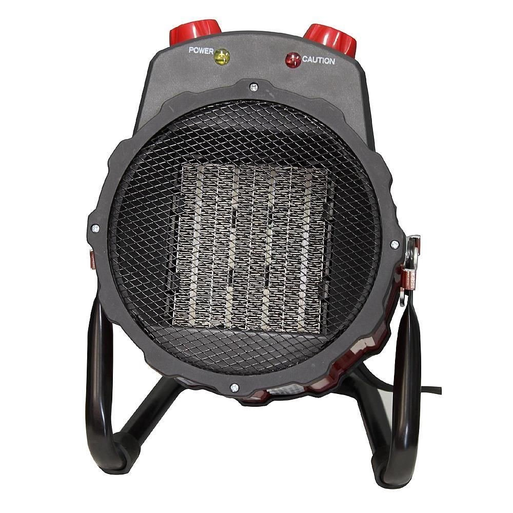 Craftsman Ceramic Heater Electric Portable Fan Space Furnace Garage Heaters With Thermostat 1 Dimplex Floor Room