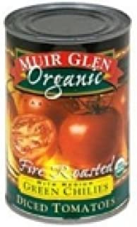 product image for Muir Glen Organic Fire Roasted Diced Tomatoes with Green Chilies - 14.5 fl oz