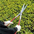 Geelife Long Handle Professional Hedge Shears Extendable Forged Hedge Garden Shear with Steel Handles