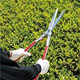 Geelife Professional Hedge Shear Long Steel Handle Pruning Shears Forged Hand Trimmers for Garden Lawn Bush Grass