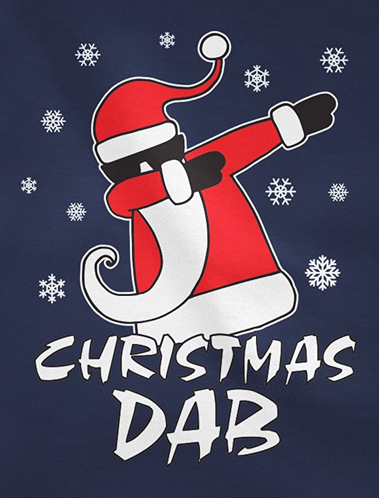 Tstars Dabbing Santa Christmas Dab Funny Ugly Xmas Toddler//Kids Sweatshirt