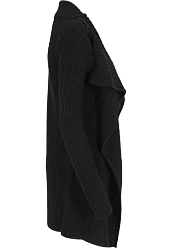 Urban Classics Mantel Knitted Long Cape-Chaqueta Mujer
