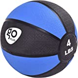 Goplus Medicine Ball for Fitness Weighted Wall Balance Training Muscle Build