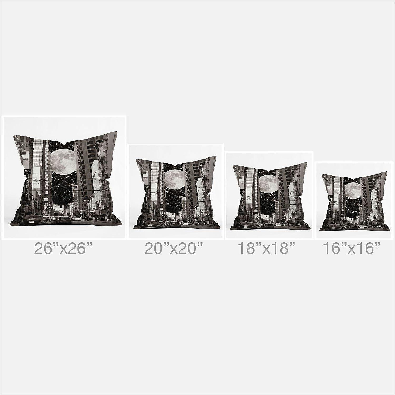 Deny Designs Shannon Clark Peacock 2 Throw Pillow 20 x 20 14787-thpo20