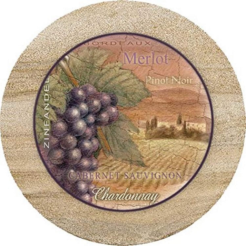 Thirstystone Sandstone Trivet Wine Country