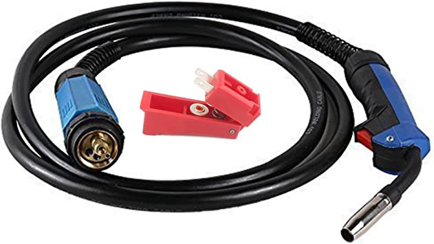 Schutzgas Schlauchpaket MB15 Schweißbrenner 4m Welding Torch Co² MIG//MAG