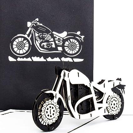 Pop Up – Tarjeta paraMoto Harley Davidson – 3d Card Moto ...
