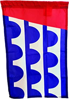 """product image for 18""""x12"""" City of Des Moines Garden Flag, Made in The USA, Quality Nylon Material"""