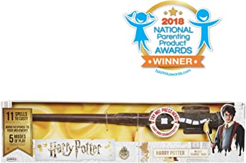 Harry Potter, Harry Potter's Wizard Training Wand - 11 SPELLS TO CAST!
