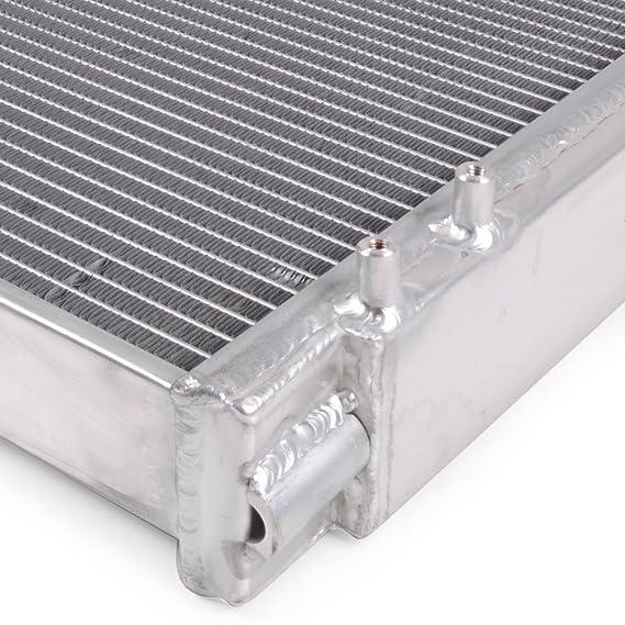 52mm aluminio aleación carrera Twin base refrigeración del motor radiador Rad: Amazon.es: Coche y moto