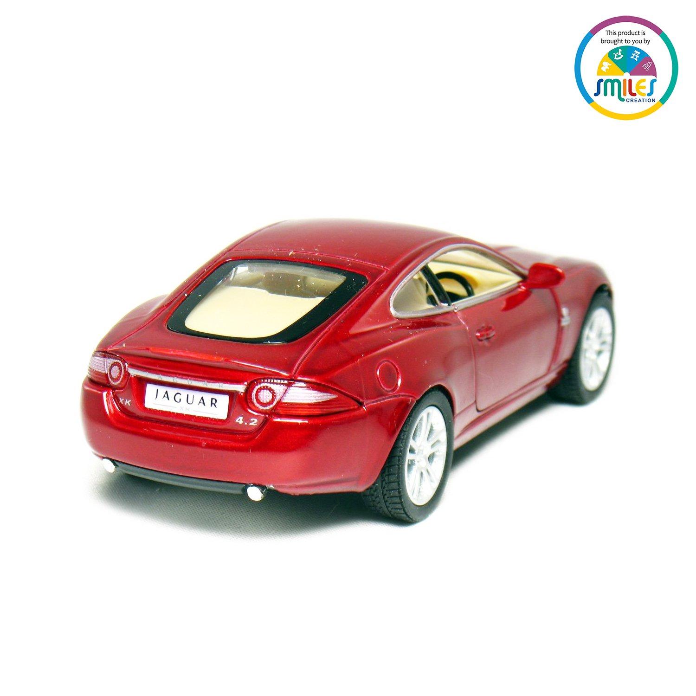 5 inch model toy car gift Kinsmart KT5321D Jaguar XK Coupe in red 1:38 scale