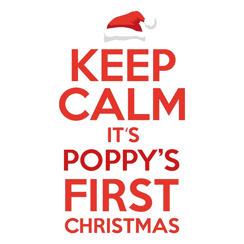 Amazon.com: Christmas Shop Babies Personalisable Keep Calm Christmas ...