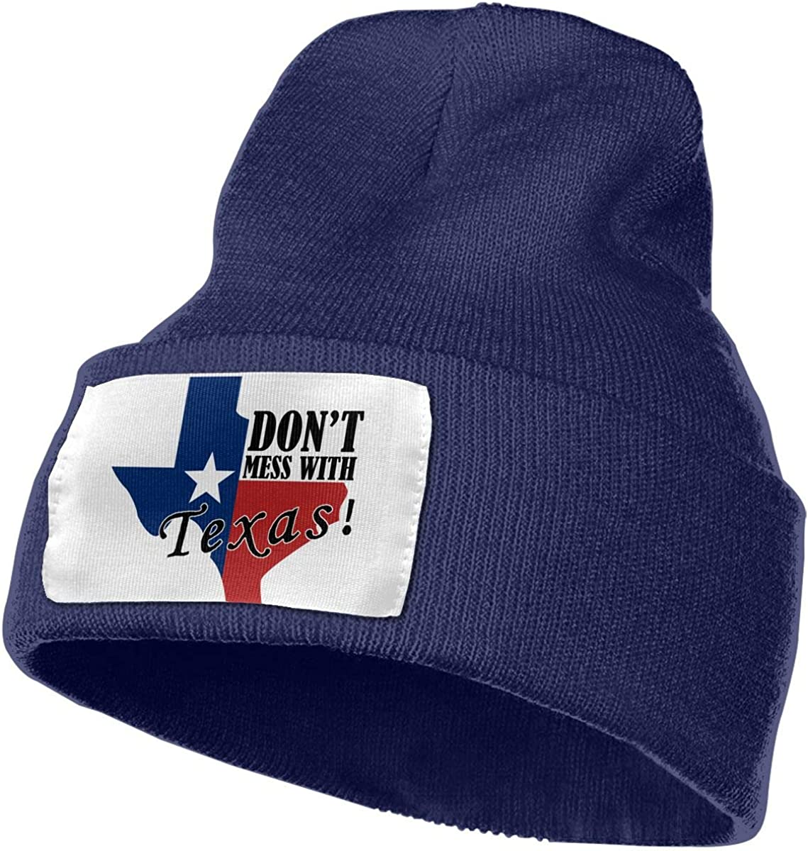 Dont Mess with Texas Unisex Winter Warm Skull Cap