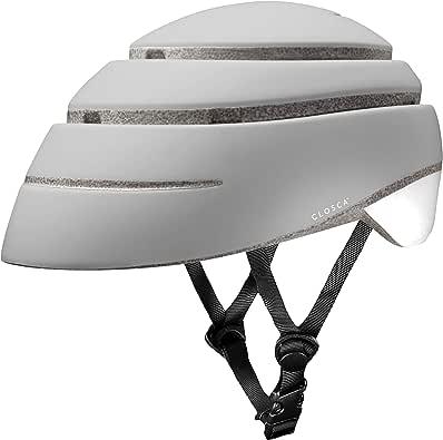 Closca Helmet Loop- Bike, e-Scooter, Bicycle Helmet - Unisex Helmet (Pearl/White, M)