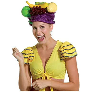 da05159edb3 Image Unavailable. Image not available for. Color  Carmen Miranda Hat  Costume Accessory