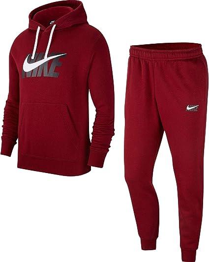 Nike Track HD Fleece GX - Chándal, Hombre, Color Rojo, tamaño S: Amazon.es: Ropa y accesorios