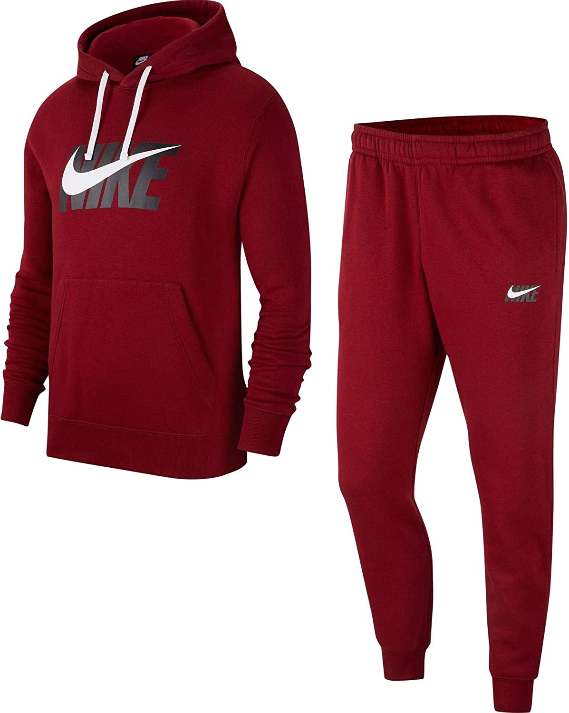 Nike Track HD Fleece GX - Chándal, Hombre, Color Rojo, tamaño S ...